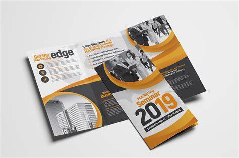 unique brochure design templates fresh new tri fold brochure designs
