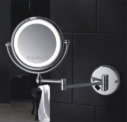 Lighted Bathroom Mirrors Magnifying Best Functions Of Lighted Magnifying Makeup Mirrors Hotel Bathroom Accessories