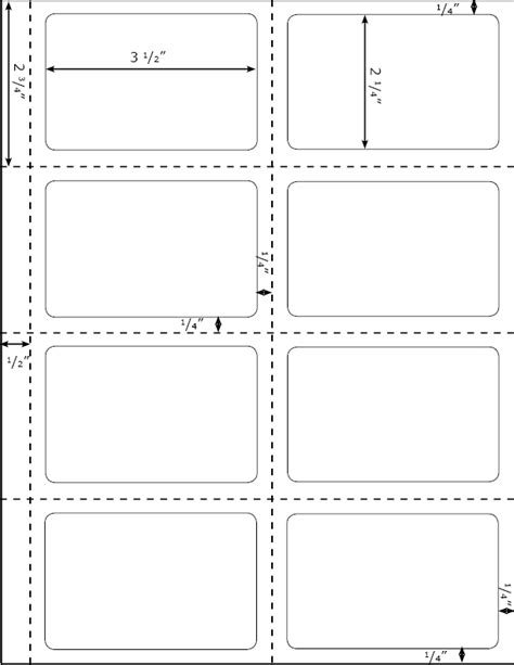 universal label templates for word large label template 20 sheets 80 quarter sheet large