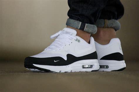 Nike Airmax One Black White nike air max 1 ultra essential white black wolf grey