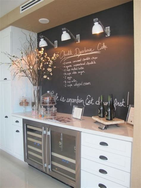 Chalkboard In Kitchen Ideas | 35 creative chalkboard ideas for kitchen d 233 cor digsdigs