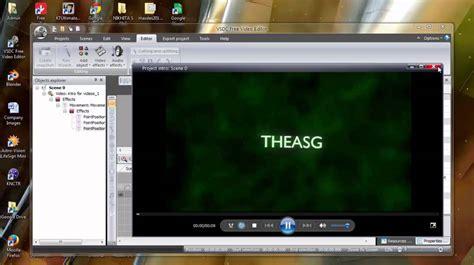 tutorial vsdc video editor bahasa indonesia vsdc video editor simple intro effects doovi
