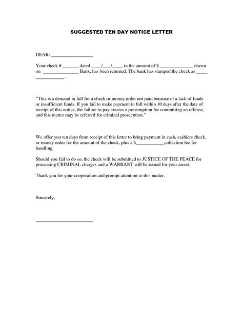 Sle Letter Of Rent Payment 7 day demand letter template 28 images demand letter
