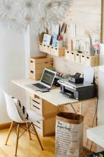 Office Desk Storage Ideas 22 Space Saving Storage Ideas For Small Home Office Designs