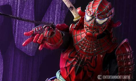Bandai Meisho Realization Samurai Spider brand new spider samurai realization figure is a must