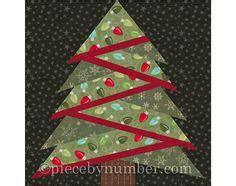christmas tree paper pieced christmas tree in july pine tree quilt block pattern paper piecing quilt pattern tree quilt paper pieced