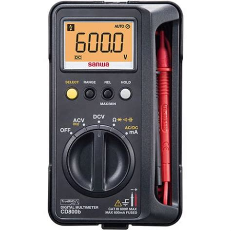 Jual Multimeter Sanwa jual sanwa cd800b true rms digital multimeter