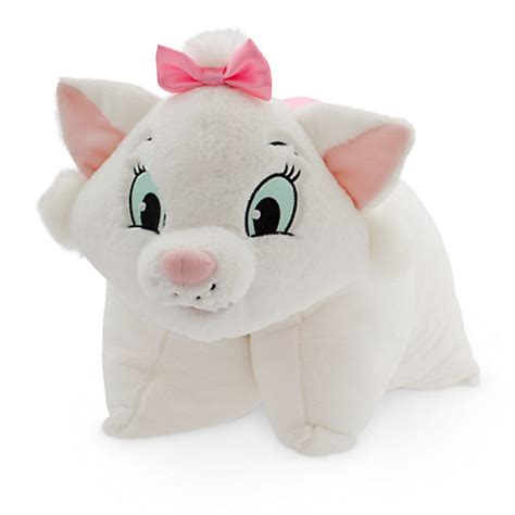 Disney Pillow by New Disney World Parks Aristocats White Pink Cat Pillow Pet Pal Plush Ebay