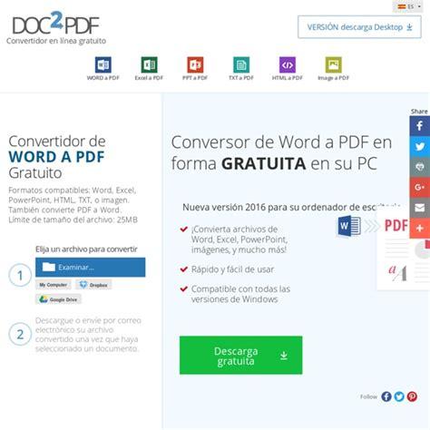 convertir imagenes a pdf en linea convertir word a pdf doc a pdf en l 237 nea gratis no se