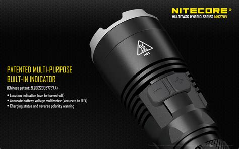 Senter Led Nitecore Mh27uv Ultraviolet Cree Xp L Hi V3 1000 Lumens nitecore mh27uv cree xp l hi v3 le end 10 27 2018 12 39 pm