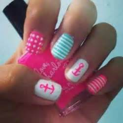 cute pink nail art designs
