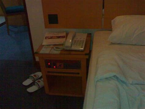 Sofa Anggrek bedside table with tv remote built in picture of hotel mega anggrek jakarta tripadvisor