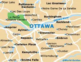 map of ottawa canada and surrounding area ottawa maps and orientation ottawa ontario on canada