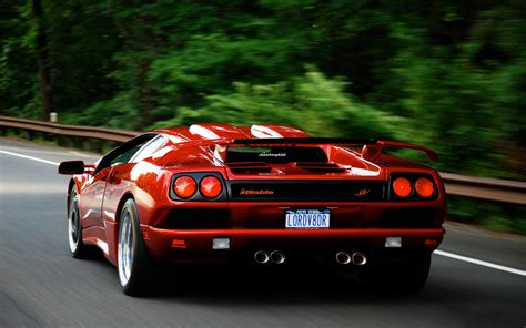 car lamborghini red hd cars wallpapers lamborghini diablo