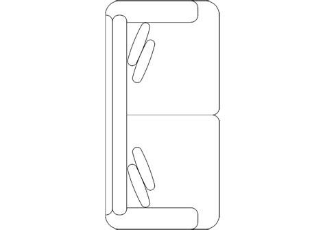 2d Home Design Software Free Download cad and bim object sofa plan 04 polantis