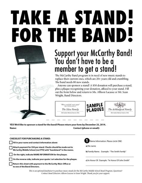 Donation Letter For Marching Band 17 Best Images About Fundraising On May Events Fundraising Letter And Auction