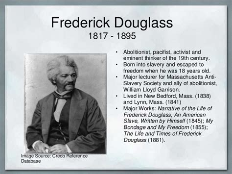 frederick douglass biography for students name banner powerpoint