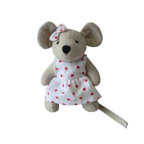 Cotton mini mouse toy boutique baby