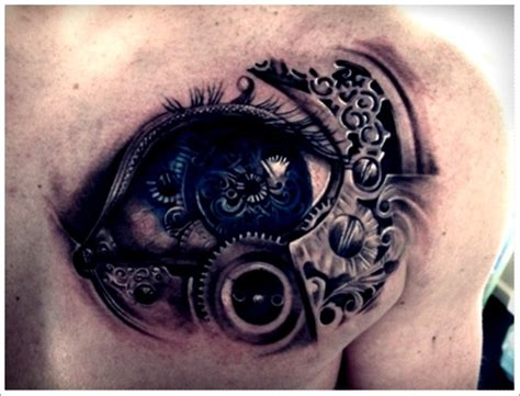 Eye Tattoo On Chest Meaning | eye tattoos and designs page 244
