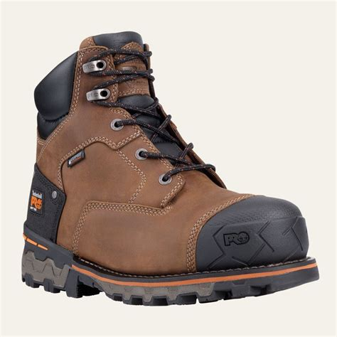 timberland work boots for timberland pro boots mens boondock 6 quot soft toe waterproof