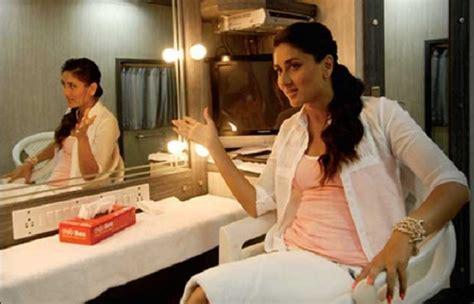 kareena kapoor bedroom photos where the celebs relax the most luxurious vanity vans