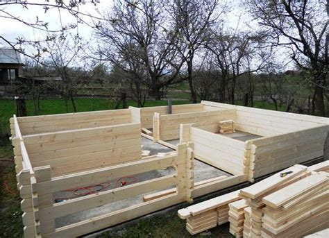 how to build a wooden house step by step