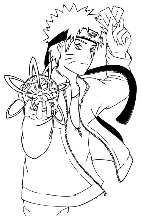 Coloriage Naruto A Imprimerlllllllll L