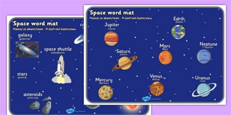 Space Word Mat by Space Word Mat Translation Space Word Mat