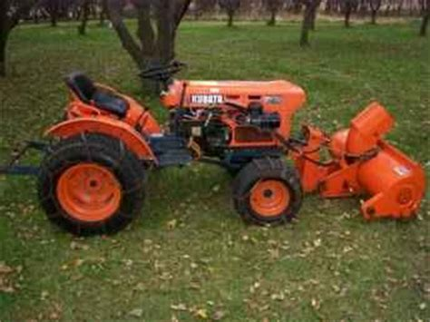 Used Farm Tractors For Sale Kubota B7100 4x4 2009 10 28