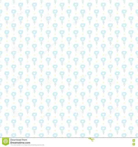 cute pastel pattern background simple little blue flower seamless pattern kids cute