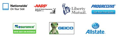 Who are the top 10 car insurance companies in the US?
