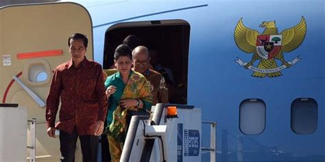film anak hilang di pesawat hadiri wisuda anak di singapura jokowi naik pesawat