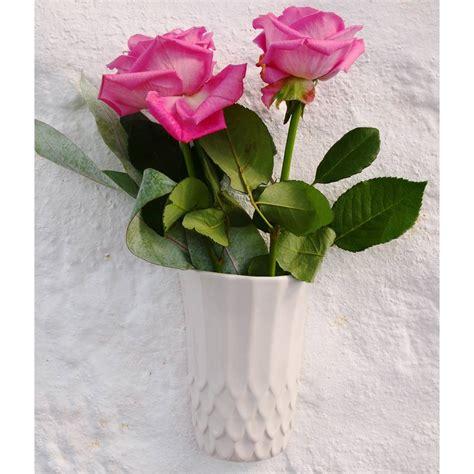 Wall Flower Vase by Wall Flower Vase By Louise Buchan Notonthehighstreet