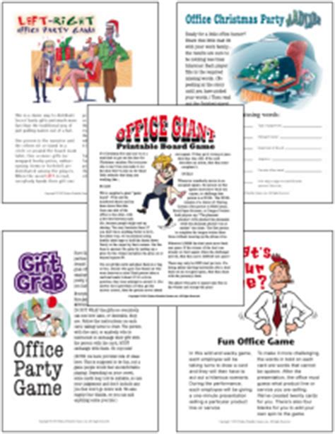 funny office christmas party games for company parties