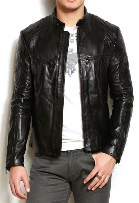 Jaket Pria Kulit Domba Asli Kualitas Premium Win J 330 Win Leather belikulit win leather rajanya kearjinan kulit asli indonesia jaket kulit jakat kulit