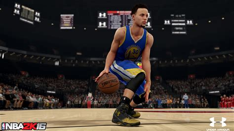 Curry 1 Curry 2 Mvp armour helps stephen curry breakthegame with nba 2k
