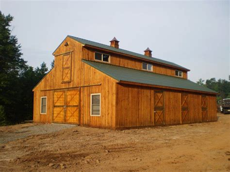 schuur ideeen pole barns with living quarters horse barns with living