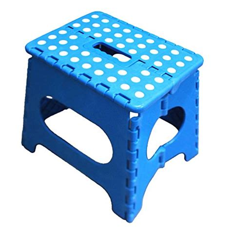Jeronic Folding Step Stool by Jeronic 11 Inch Folding Step Stool For Adults And
