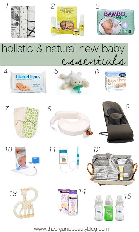 New Baby Giveaways - holistic new baby essentials giveaways the organic beauty