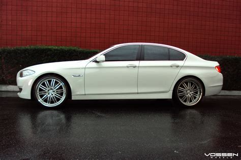 custom white bmw white bmw 5 series receives a few exterior additions
