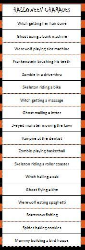 House Planning Games by Halloween Charades Game Moms Amp Munchkins