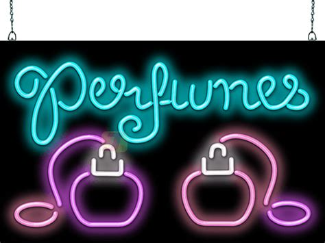 perfumes  bottles neon sign hn   jantec neon