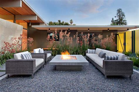 contemporary outdoor fire pit patio portable white wooden
