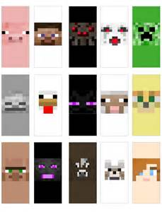 minecraft faces mini candy bar wrappers everyday parties
