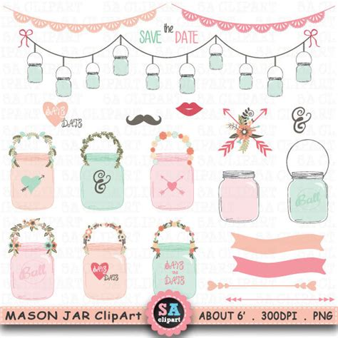 Jar Wedding Clipart by Jar Clipart Wedding Jarclip