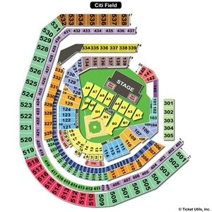 citi field seating map citi field seating charts