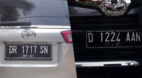 Plat Nomor Acrylic Untuk Motor discussion plat nomor kendaraan hitam menjadi putih di 2019 gotravelly