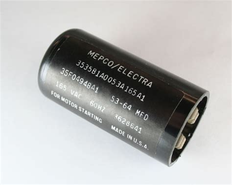 philips starting capacitor 2 x 3535b1a0053a165a1 philips 53 64uf 165v application motor start capacitor ebay
