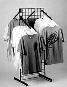 Grid T-Shirt Rack | Apparel Rack | Grid Display | Retail