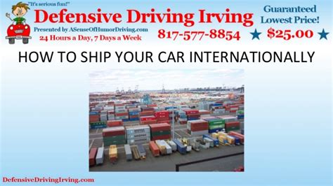 ship your car how to ship your car internationally